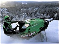 2000 Arctic Cat Snowmobile Lineup